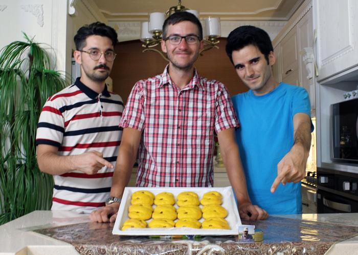 نان زعفرانی کشمون