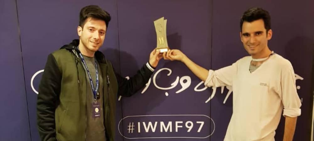 کشمون؛ برنده تندیس یازدهمین سال جشنواره وب و موبایل ایران